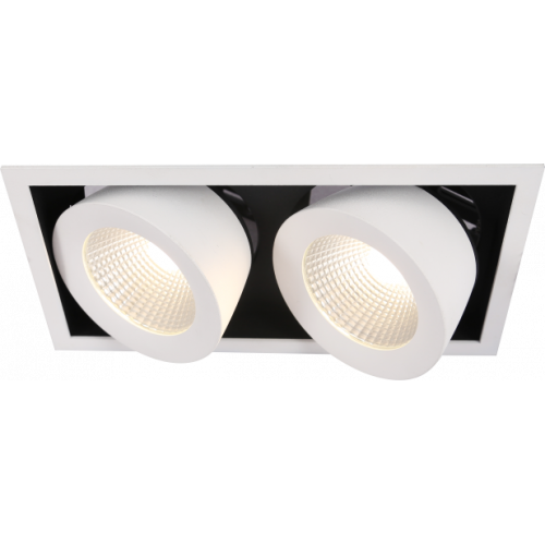 GRILL.13x2 карданный светильник 2x13W