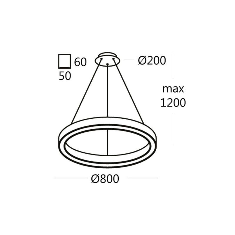 Подвесной светильник RINGO.80