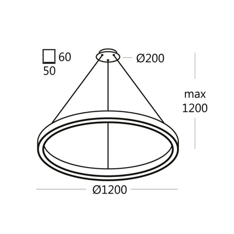 Подвесной светильник RINGO.120