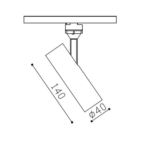 EOS трековый светильник  / Бренд VOLTA / EOS