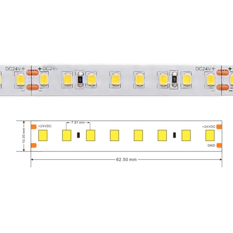 Светодиодная лента герметичная 24V IP65 12