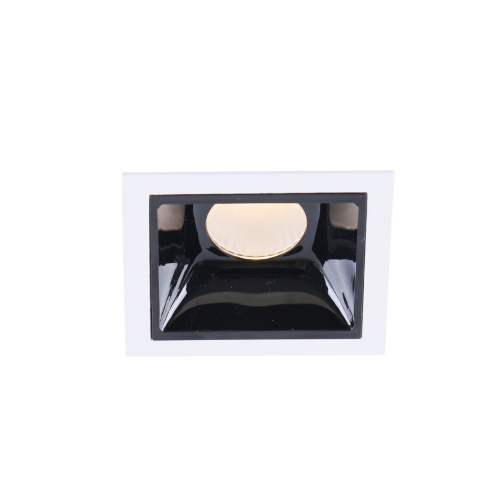 FLOK.7 черный встраиваемый светильник 7W
