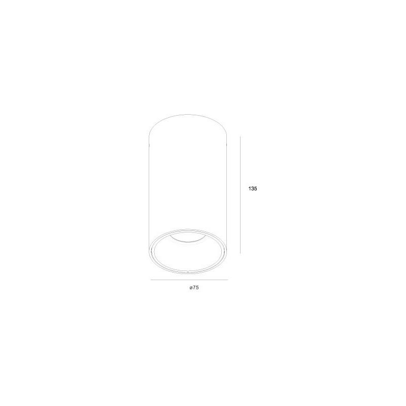 ROLL.13 акладной  светильник 13W