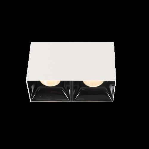 BET.7х2 белый накладной светильник 2х7W