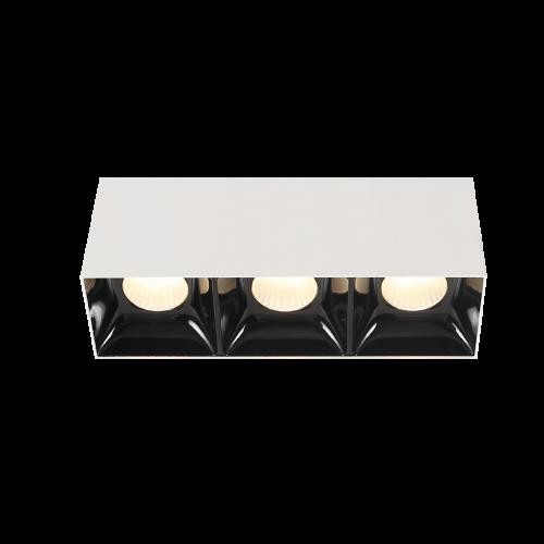 BET.7х3 белый накладной светильник 3х7W
