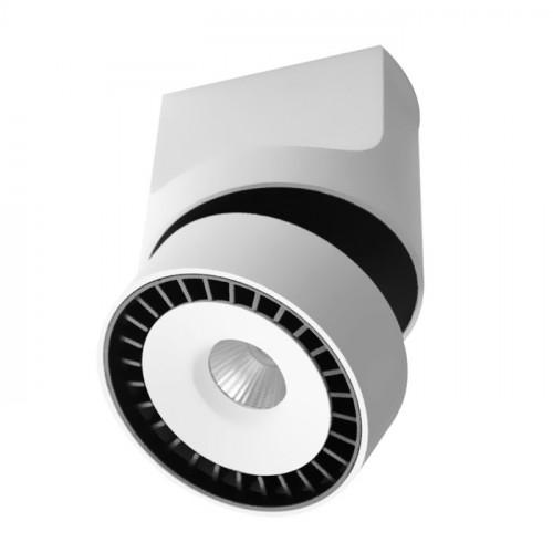 GEA.12N белый накладной поворотный светильник 12W