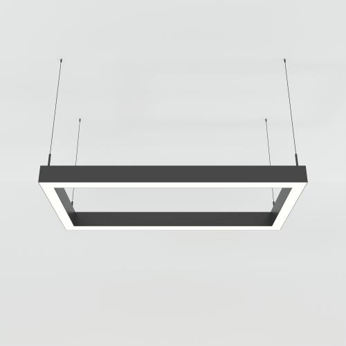 RECTANGLE 50х100 подвесной профильный светильник 84W