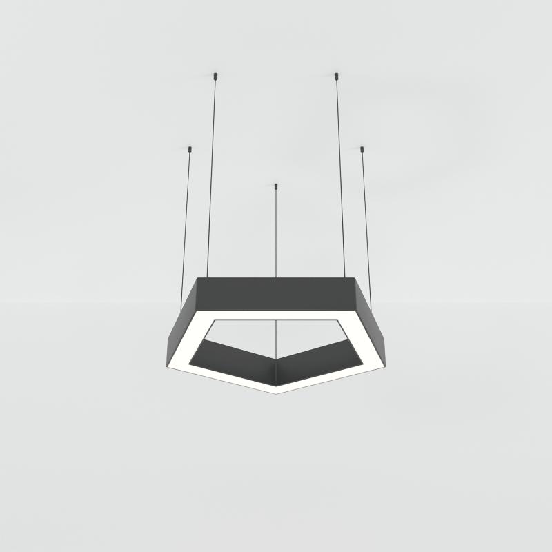 PENTAGON.30 подвесной профильный светильник 42W