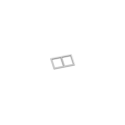 Двойная декоративная рамка для светильника UBBO.10