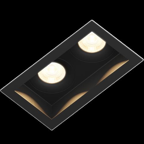 FORT.10x2 встраиваемый светильник 2x10W
