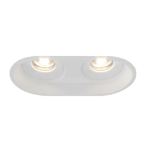 OMEGA.10х2 белый точечный светильник 2x10W