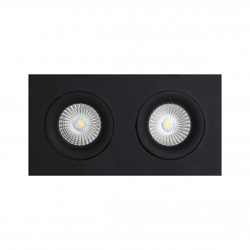 DORI.10x2 встраиваемый поворотный светильник 2x10W