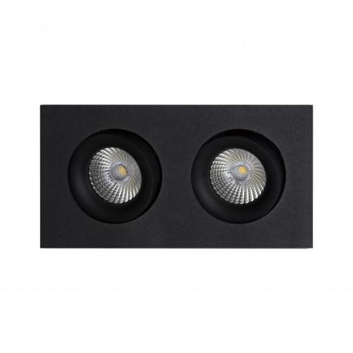 DORI.8x2 встраиваемый поворотный светильник 2x8W