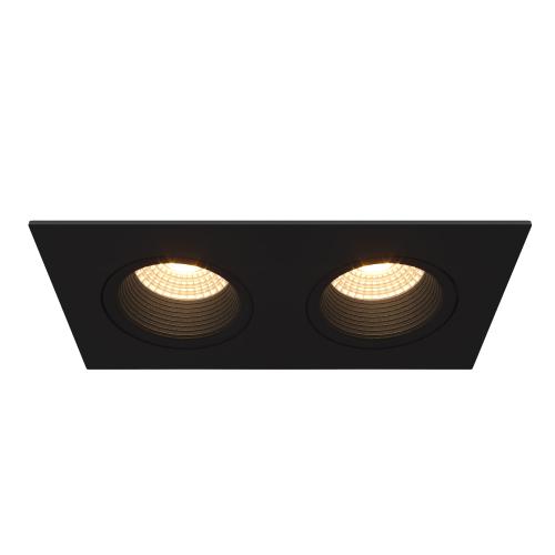 NORI.10x2S встраиваемый поворотный светильник 2х10W