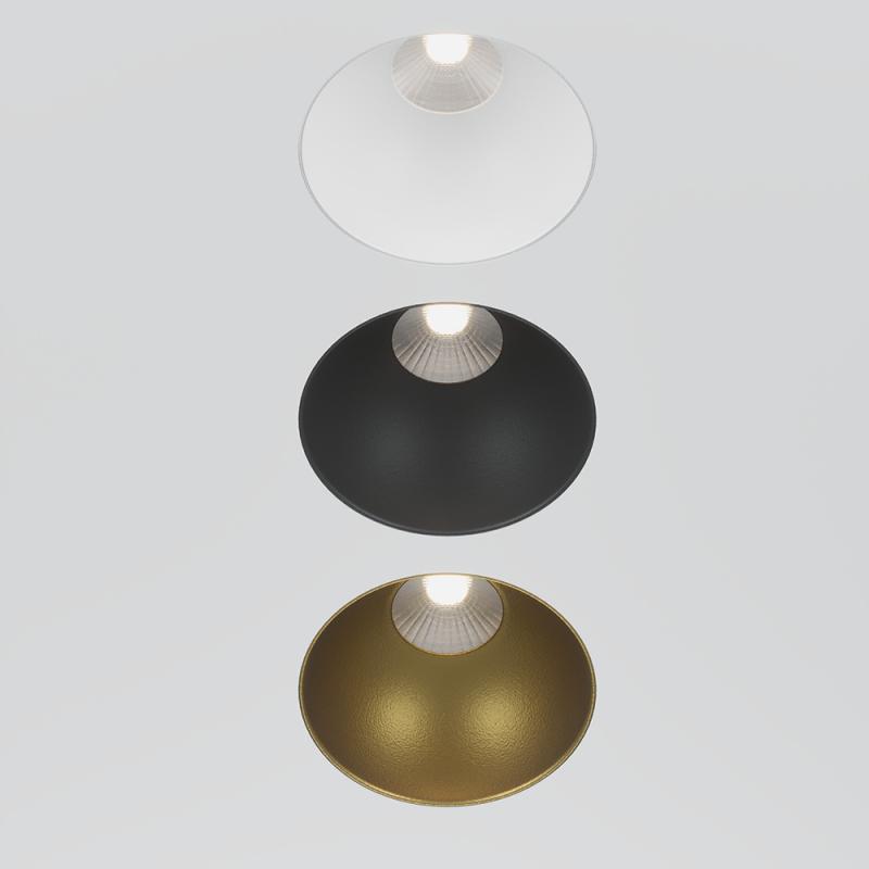 MOON.10R белый встраиваемый безрамочный светильник 10W