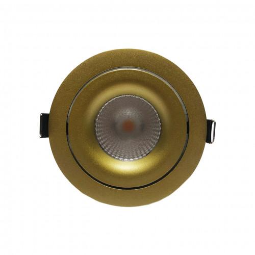ALFA.13T золотой встраиваемый поворотный светильник 13W