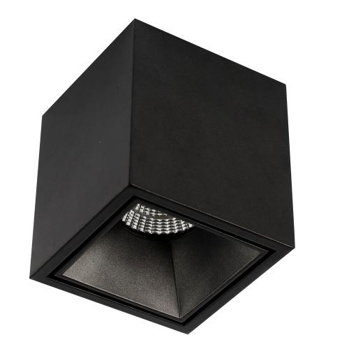UBBO.10N черный накладной светильник 10W