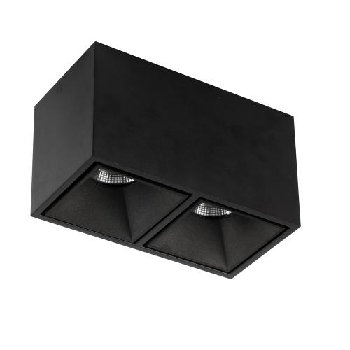 UBBO.10х2N черный накладной потолочный светильник