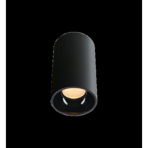 ROLL.8 черный накладной светильник 8W