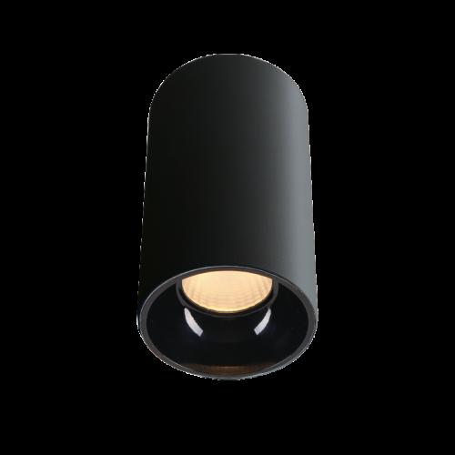 ROLL.13 черный накладной  светильник 13W
