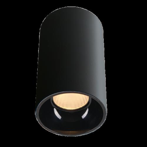 ROLL.20 черный накладной  светильник 20W