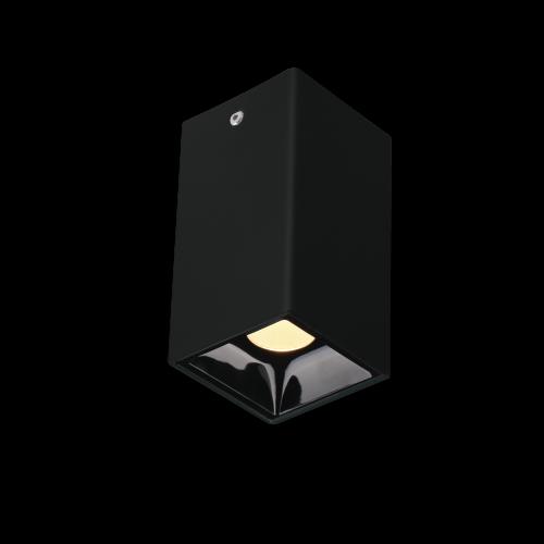 BET.7 черный накладной светильник 7W