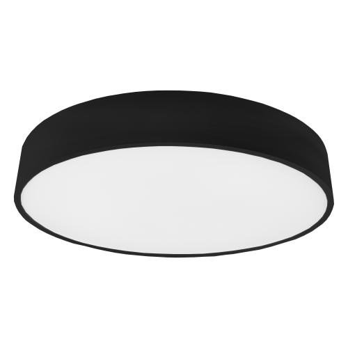 LAKI.60 черная накладная светодиодная панель 60W