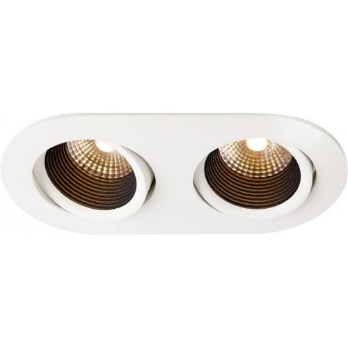 NORI.10x2R встраиваемый светильник 2x10W